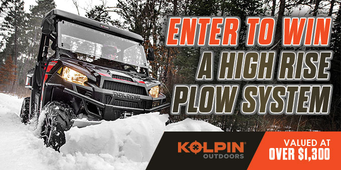 online contests, sweepstakes and giveaways - KOLPIN® WIN A HIGH RISE PLOW SYSTEM