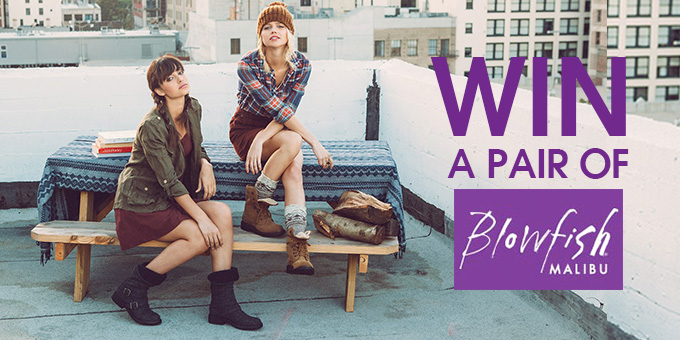 online contests, sweepstakes and giveaways - Fancy winning a pair of Blowfish Malibu Boots?